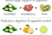 Fruits infused water idea