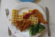 Food 'art' for Kids