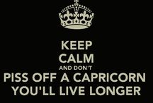 Capricorn ♑ / This is who I am...