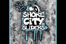 drift trikes (shore city sliders) / drift triking with the shore city sliders