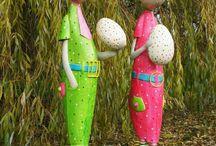Garden Decorate At Easter And Joyful Festive Mood Spread Ideas For The Garden – 50 Easter Decor
