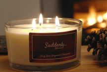 Suddenly...Relaxed - Candles / A stunning luxury range of fragrant candles all handcrafted using 100% sustainable and renewable natural vegetable waxes and 100% natural essential oil frangrances.