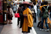 Japan Monks