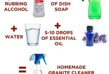 Counter top cleaner