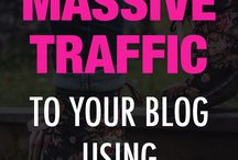 Content Marketing Ideas / Bring targeted traffic to your website with these content marketing ideas.
