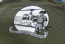 Military T-Shirt Designs / Over the years we have been given the opportunity to print garments for a number of military groups. These designs tend to be very unique. Here are some designs we have worked on.