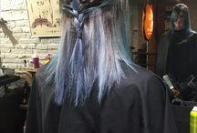 Couleur cheveux bleu turquoise