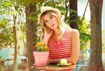 Forever Young Spring Summer 2015 / Tablero con imágenes de la colección Primavera Verano 2015 de la marca de moda española Divina Providencia