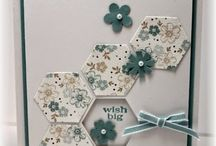 Stampin up six sided hexagon