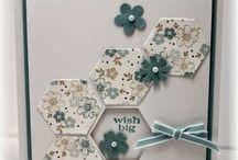 DIY - kaarten - hexecon / 6-hoek