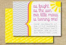 Rae Bird First Birthday! / by Natalie Martin