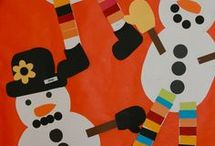 snowman crafts for kids to make