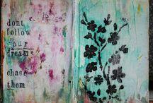 pretty art / by Melanie Terrill
