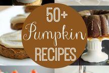 Fall/Halloween recipes