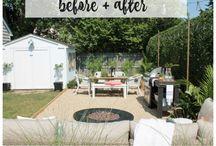 Garden mood board