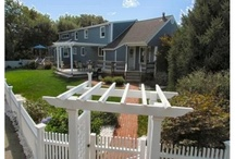 """Scituate, Massachusetts - Fences and Gates / Lovely landscaping, fences, arbors, gates, and gardens in Scituate, Massachusetts.  Turn to AVO Fence & Supply to create YOUR """"Beautiful Borders""""."""