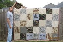 quilts (army & military) / by Angela Slager