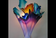 Glass Sconces