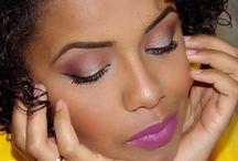 Makeup cor-de-canela / Maquilhagem sofisticada para Negras :)