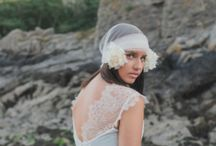 Bluebelle - Freda May Collection / Bluebelle is a chic hand-made couture gown by Amy Mair Couture  www.amymaircouture.co.uk