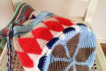 Mochila style crochet bags