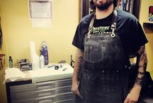 Tattoist Clients in S&R Aprons / Pics submitted by our tattooist clientele.