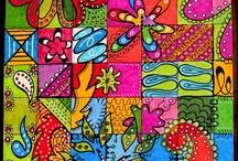 Lápices, plumas, rotuladores, marcadores...color