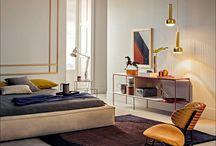 1960 bedroom nautical