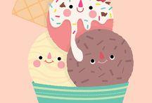 gelados divertidos