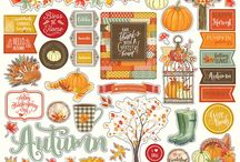 Falling Leaves / Falling Leaves scrapbook collection by Michelle Coleman