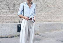 SPRING SUMMER TREND: Palazzo trousers