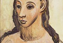 Pablo Picasso Gemälde / Pablo Picasso, eigentlich Pablo Ruiz Picasso, war ein spanischer Maler, Grafiker und Bildhauer. Sein umfangreiches Gesamtwerk umfasst Gemälde, Zeichnungen, Grafiken, Plastiken und Keramiken, deren Gesamtzahl auf 50.000 geschätzt wird. Es ist geprägt durch eine große Vielfalt künstlerischer Ausdrucksformen.  Sie können diese Werke auf WahooArt.com kaufen.