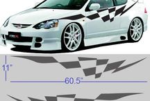 Car Graphic Decal