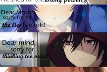 Anime Quotes of my life