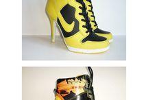 Nike hakken