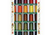 Machine Embroidery Threads and Stabilizers