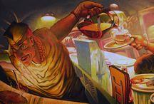 Murals / Fine art murals, hand-painted originals, street art, indoor, outdoor