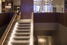 Escadas hotel