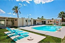 """Palm Springs & Desert Favorites / We live one foot in Palm Springs and the other in the suburbs. It's far enough away to feel like another life, a """"Rat Pack"""" life, but close enough to be there within a couple of hours."""