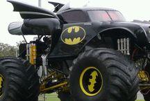 Batman monster track