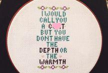 ze Cross Stitch / by Karri Wright