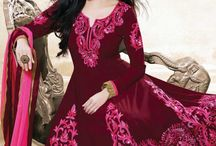 Latest Anarkali Suits / Beautifully Embroidered Long Anarkali Suits