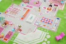 Ava's awesome room / Ava's room plan