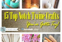 Twine crafts