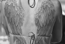 angel wing tatoo