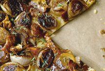 Pizza tarts toasts flatbreads wraps sandwiches etc / Stuff on bread
