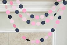 Pink Nautical Party / Ideas for a girly nautical theme party or shower.