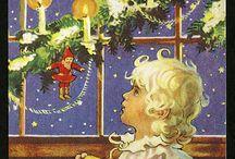 Gamla Jul kort