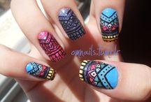 Nail Polishes/Nail Art / by Melody Wai