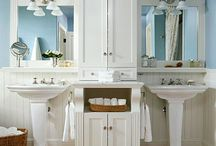 Powder Rooms / Because I have two bathrooms that need to be remodeled. / by Leslie Jackson Howell